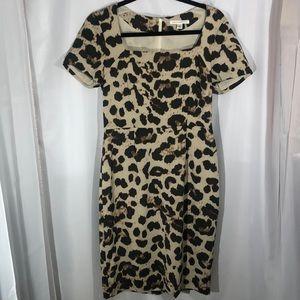 Leopard Print Banana Republic Dress